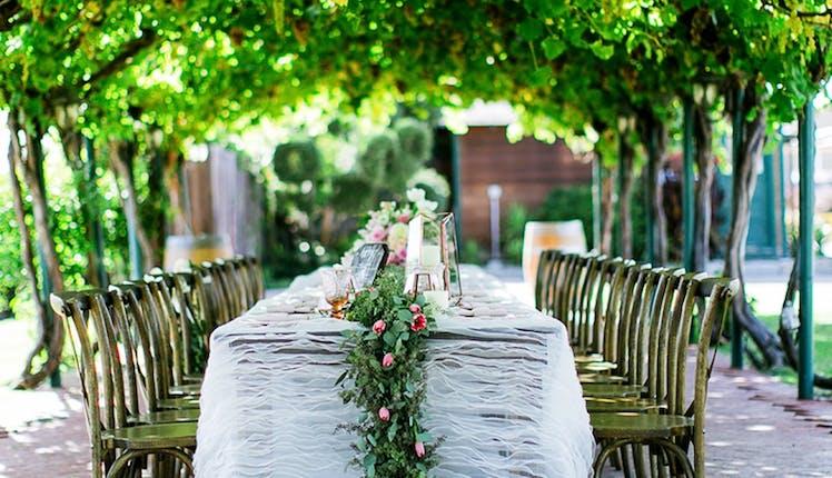 Concannon Vineyard Wedding Location Livermore Wedding Venue Tri
