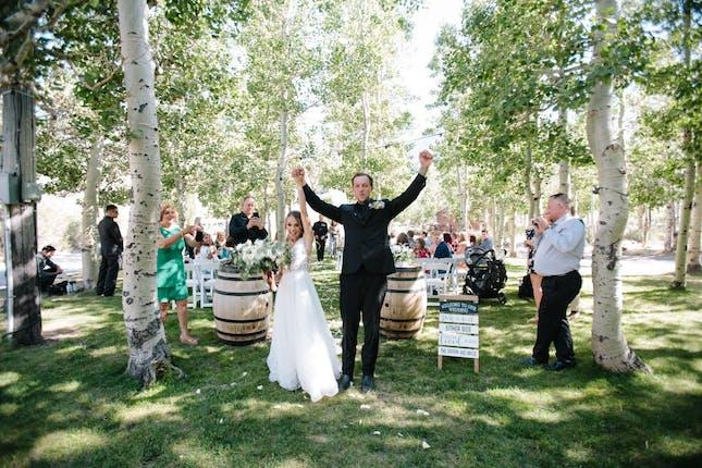 M M Events At Convict Lake Resort Weddings Eastern Sierra Wedding