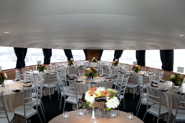 Electra Cruises Newport Beach Wedding