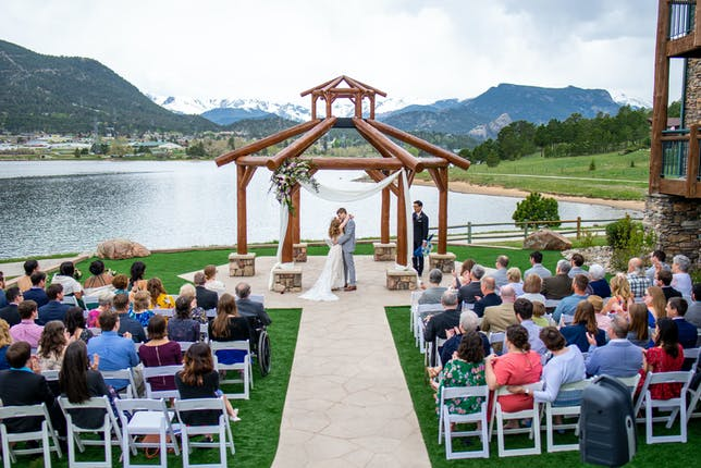 Estes Park Resort Weddings High Rockies Aspen Vail Wedding Venue
