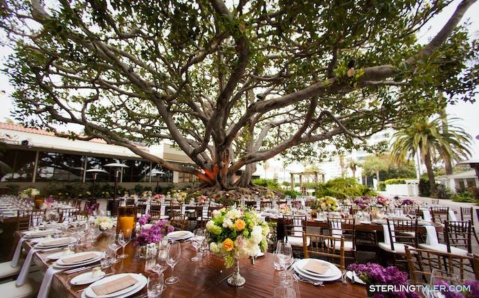 Fairmont Miramar Hotel And Bungalows Santa Monica Beach Wedding