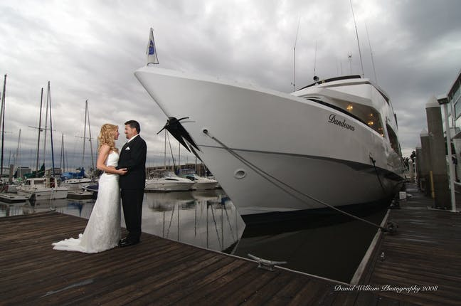 Fantasea Yacht Weddings Los Angeles Wedding Venue Marina Del Rey Ca