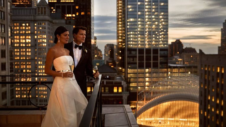 Four Seasons Hotel New York Downtown Weddings Manhattan Wedding Venue