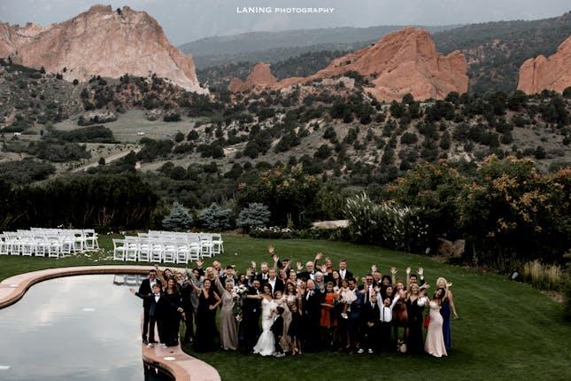 Garden Of The Gods Collection Weddings Colorado Springs Wedding Venue