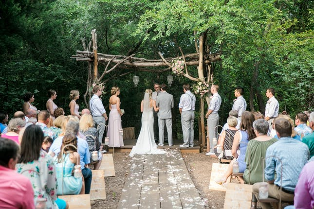 River Bend Nature Center Weddings North Texas Wedding Venue Wichita