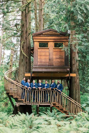 Treehouse Point Weddings Seattle Wedding Venue Issaquah Wa 98027