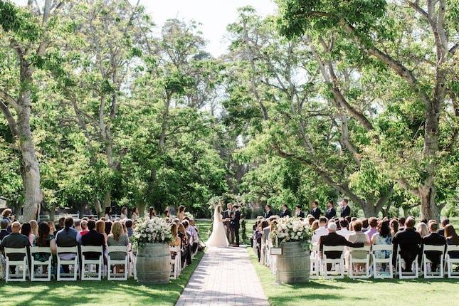 Walnut Grove At Tierra Rejada Farms Ventura Wedding Venue Moorpark Ca